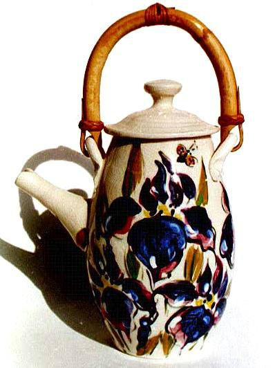 Iris  Tea Pot